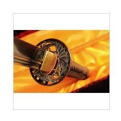Miecz japoński samurajski ninja do treningu, stal wysokowęglowa 1095, r328 marki Płatnerze hiszpańscy